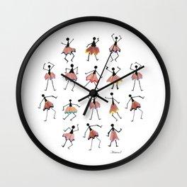 Folklore Wall Clock