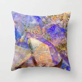 Crystal Magic Throw Pillow