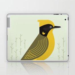 Helmeted Honeyeater, Bird of Australia Laptop & iPad Skin
