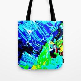 Pop Winter Fields Tote Bag