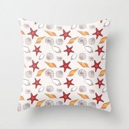 Conchas Throw Pillow