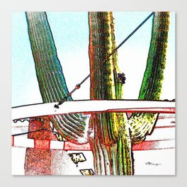 Pinnacle Peak Saguaro Canvas Print