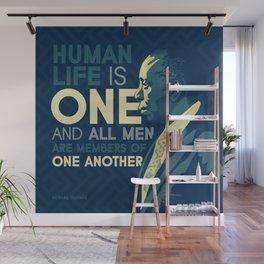 Howard Thurman Wall Mural