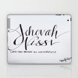 Jehovah Nissi Laptop & iPad Skin