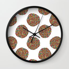 FRECKLES - WHITE Wall Clock