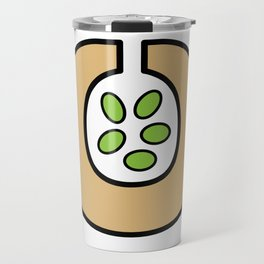Ceramic Vessel with Beans Travel Mug