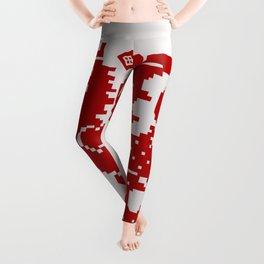 Medieval Red Dragon Leggings