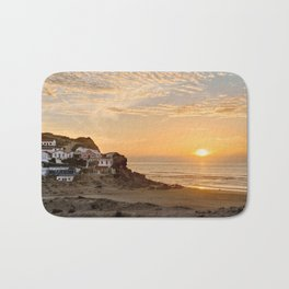 Sunset on the Costa Vicentina, Portugal Bath Mat