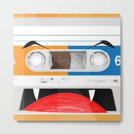 The cassette tape Vampire Metal Print