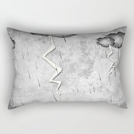 There's a storm a brewin Rectangular Pillow