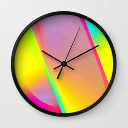 Rainbow series I Wall Clock