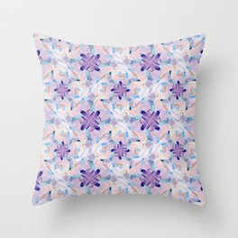 Jess Abstract Painting Throw Pillow