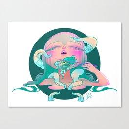 Horror fish Canvas Print