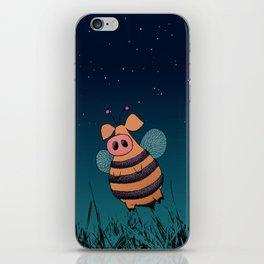 Bumblepig iPhone Skin