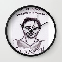 Chris Redfield Wall Clock