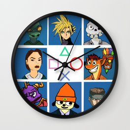 The PS1 Bunch V2 Wall Clock