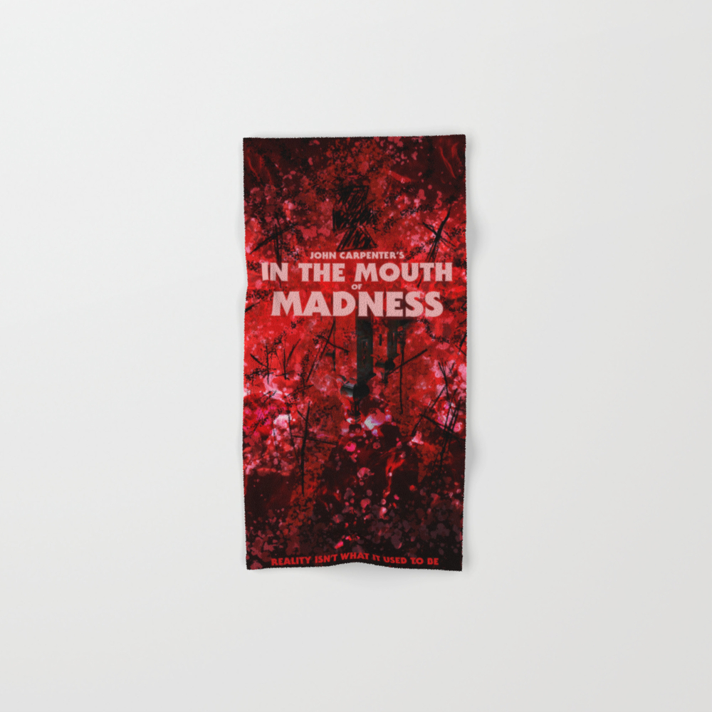 In The Mouth Of Madness Hand Towel by Drwdesign BTL9048718