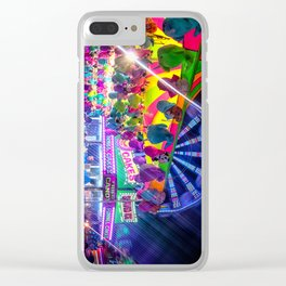 Fun Fun and Funnel Cakes at the carnival Clear iPhone Case