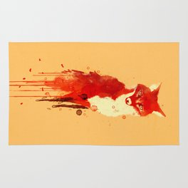 The fox, the forest spirit Rug