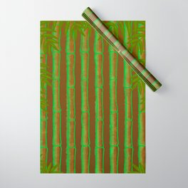 Bamboo Forest Pattern! Wrapping Paper