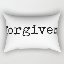 Forgiven Rectangular Pillow