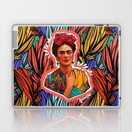 Frida in coral Laptop & iPad Skin