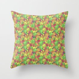 Refreshing Fruit Toss Throw Pillow