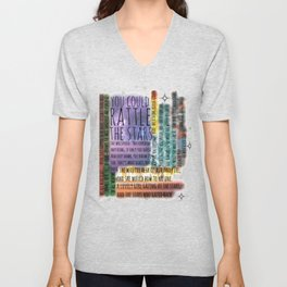 THRONE OF GLASS QUOTES Unisex V-Neck