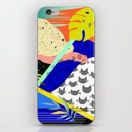 Tropical Chaos iPhone Skin