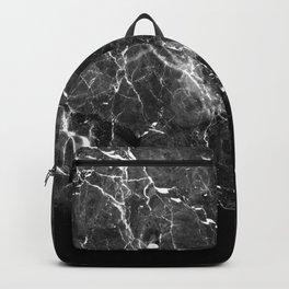 Black Gray Marble #1 #decor #art #society6 Backpack