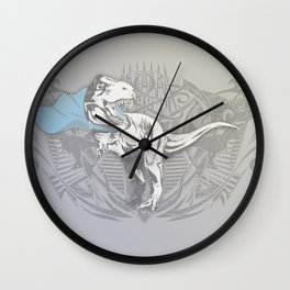 Fearless Creature: Rexy Wall Clock