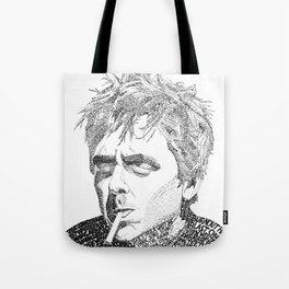 Billie Joe Armstrong - Word Art Tote Bag