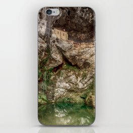 The Holy Cave of Covadonga iPhone Skin