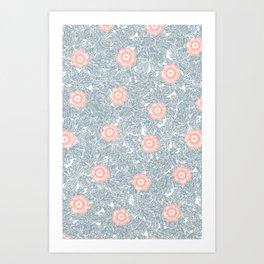 Katence pattern Art Print