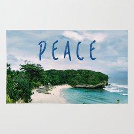 Peace Beach Rug
