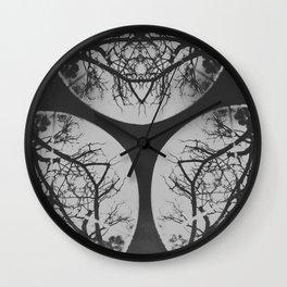 Devil's Hands Wall Clock