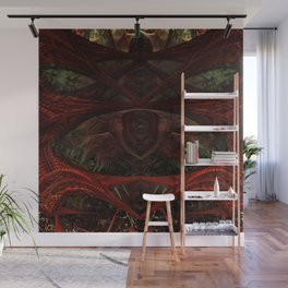 Xeno Blood Red Wall Mural