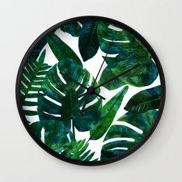 Perceptive Dream    #society6 #tropical #buyart Wall Clock