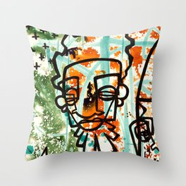 Galactic 1liner Throw Pillow