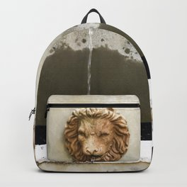 Three Lions Fountain Backpack