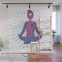 Open Your Third Eye To The Universe Wall Mural