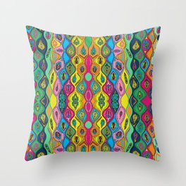 Up to Muff Throw Pillow