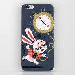 White Rabbit - Alice in Wonderland iPhone Skin