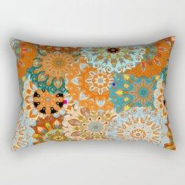 Boho Mandela Pattern 1 Rectangular Pillow