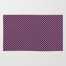 Bodacious and Black Polka Dots Rug