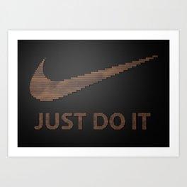 Just type it Art Print