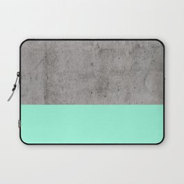 Sea on Concrete Laptop Sleeve