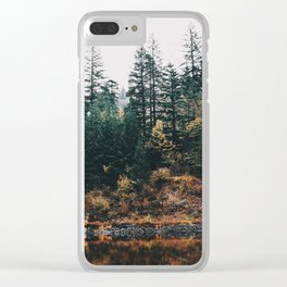Gillette Lake III Clear iPhone Case