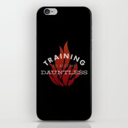 Training: Dauntless iPhone Skin