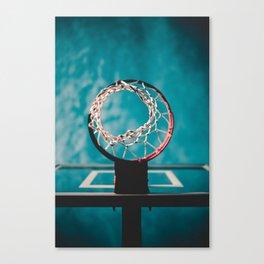 basketball hoop 6 Canvas Print